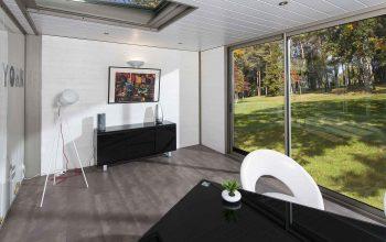 veranda loft aluminium bordeaux